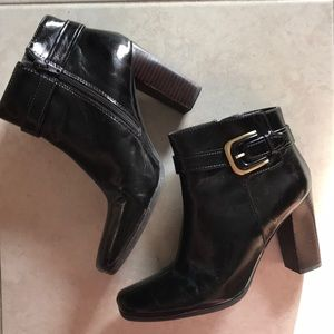 Franco Sarto heels boots with zipper